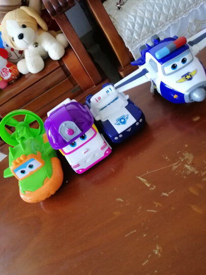 奥迪双钻(AULDEY)超级飞侠益智玩具大变形机器人-小爱儿童玩具男女孩新年礼物 710240 晒单图