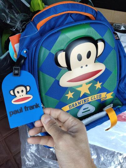 大嘴猴 (Paul Frank) 儿童书包女款小学生书包 时尚卡通减负学生双肩背包 PKY2086B玫红 晒单图
