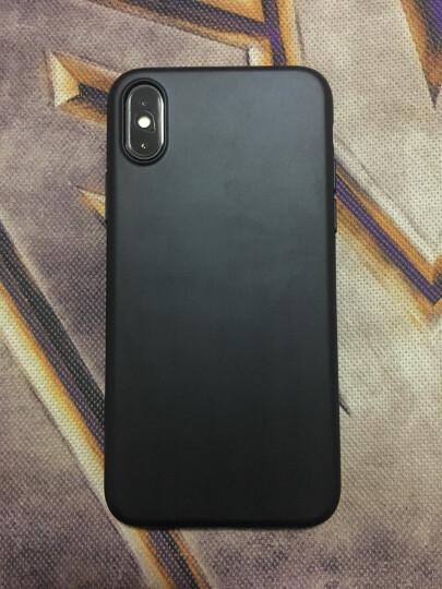 邦克仕(Benks)苹果iPhoneX手机壳保护套 苹果X防摔保护壳 iX全包软边硬底保护 防滑抗指纹系列 黑色 晒单图