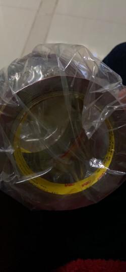 3M胶带 泡棉双面胶带 汽车/家居通用胶粘 无痕 耐水 耐用 耐高温 15毫米*30米 单卷装 晒单图