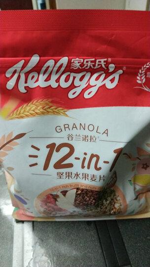 家乐氏水果麦片 谷兰诺拉恋香玫瑰什锦即食谷物代餐 含燕麦早餐420g(35g*12小袋) 晒单图