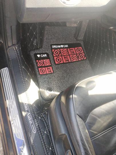 途睿 全包围丝圈汽车脚垫专用于20款新轩逸19年大众朗逸宝来帕萨特老凯美瑞18款英朗十代思域雅阁脚垫 【包门槛长踏】黑色菱形格+黑色丝圈 马自达马六6昂科塞拉CX-45星聘睿翼阿特兹 晒单图