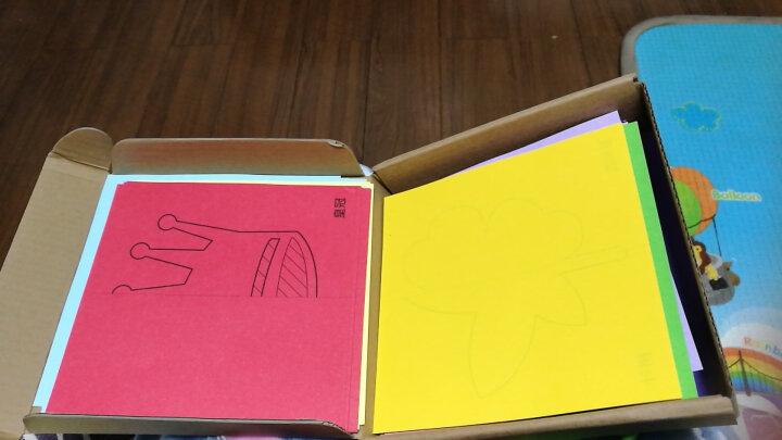 卡乐优儿童剪纸书宝宝手工折纸书DIY手工制作材料幼儿园3-6岁 240张线稿图案剪纸【送2把安全剪刀】 晒单图
