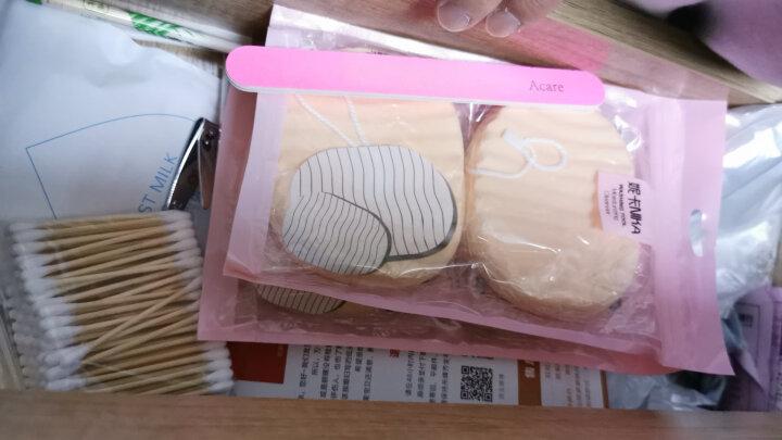 妮卡(NIKA)珍珠棉绒洁面洗脸扑2个装(卸妆清洁 柔软亲肤) 晒单图