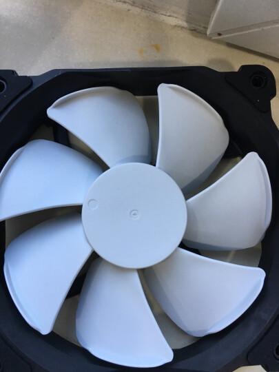 追风者(PHANTEKS) F120MP高风压版 黑白 12公分机箱冷排散热风扇 4针(液压轴/涡流增压叶片/避震垫/静音温控) 晒单图
