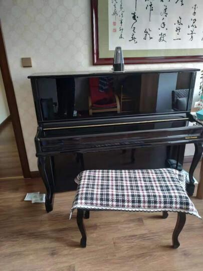 BRUNO(布鲁诺)德国品质钢琴 UP123家用考级演奏立式钢琴全国联保 终身质保 up123酒红色顶配 终身质保+送货到家 晒单图