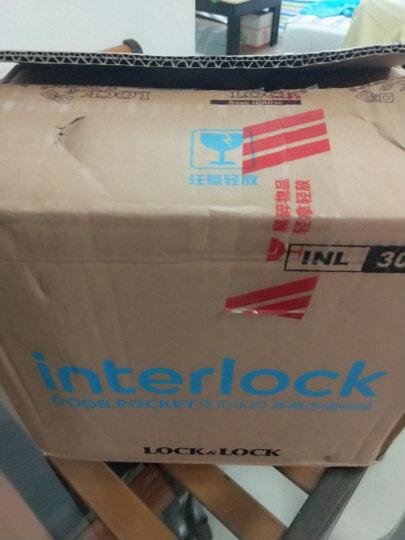 乐扣乐扣(LOCK&LOCK) 储物罐收纳罐 冰箱侧门收纳瓶 INTERLOCK十件套  INL301S902 晒单图