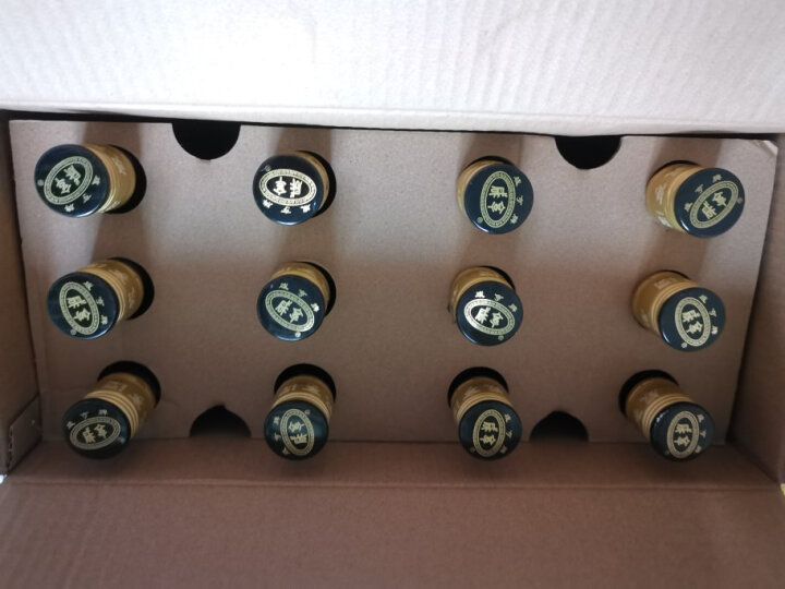 咸亨 绍兴黄酒 精品十年陈 土雕酒 半甜型 375ml*12坛 整箱装 晒单图