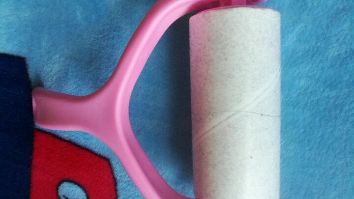 伊司达 粘毛器 粘尘纸滚筒可撕式去毛粘刷9卷装 晒单图