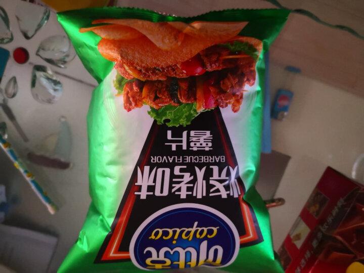 可比克 烧烤味 薯片 零食休闲食品 60g 晒单图
