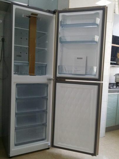 美的(Midea)236升 风冷无霜双开门冰箱节能环保静音冷藏冷冻电子控温保鲜 BCD-236WM(E) 晒单图