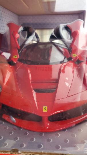 星辉(Rastar) 遥控车 1:14法拉利漂移跑车男孩儿童玩具车模型 50100红色 晒单图