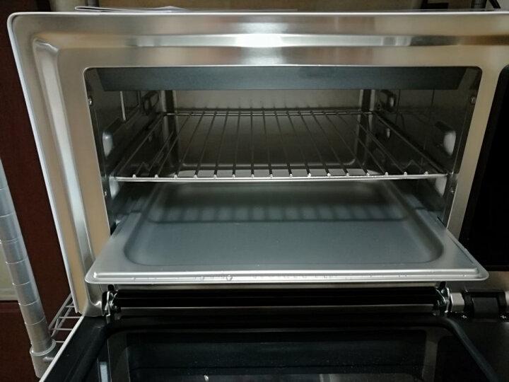 GOVOS 德国D01A电蒸箱烤箱家用二合一 蒸烤箱台式一体机 多功能蒸汽烘焙微蒸 晒单图