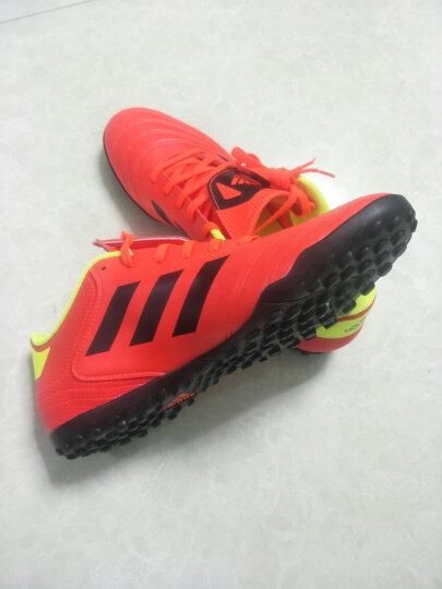 阿迪达斯Adidas碎钉足球鞋TF足球鞋男 梅西男款足球鞋 碎钉足球鞋 【买一送二鞋袋+后跟帖】CP9278 40 晒单图