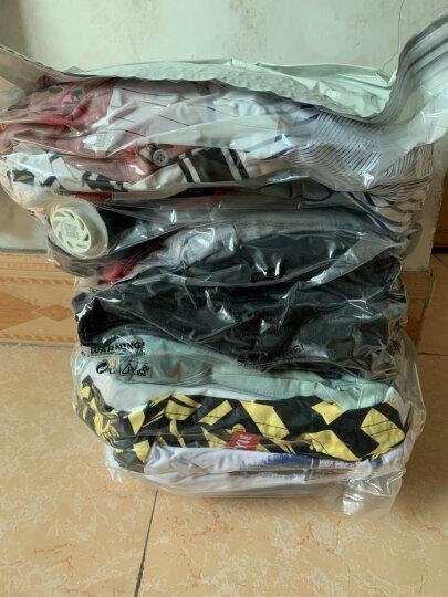 太力免抽气真空收纳袋 被子衣物压缩袋磨砂二维码真空袋整理袋【特大号6个装】 晒单图