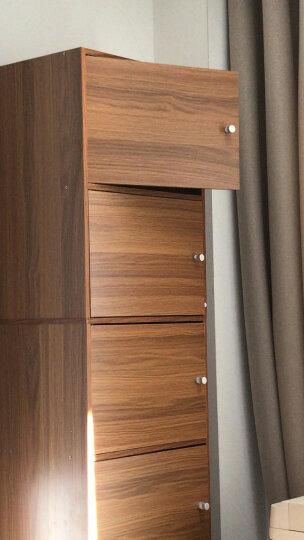 家乐铭品 书柜书架 储物柜收纳柜1.5M加固带门自由组合简易柜子落地文件柜现代简约客厅置物柜子 A594 晒单图
