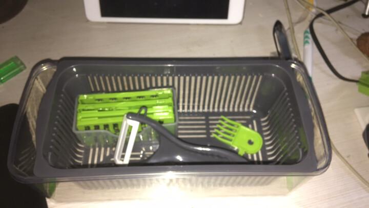 美之扣 切丝切片器多功能擦丝料理器刨丝切菜器 五刀粉色无容器 晒单图