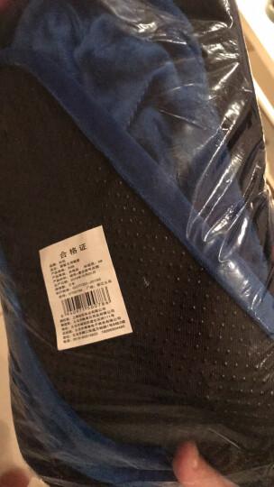 绒布鞋套防滑底布鞋套家用可反复洗加厚耐磨学生室内脚套机房鞋套样品房鞋套 成人款宝蓝色 10双装 晒单图