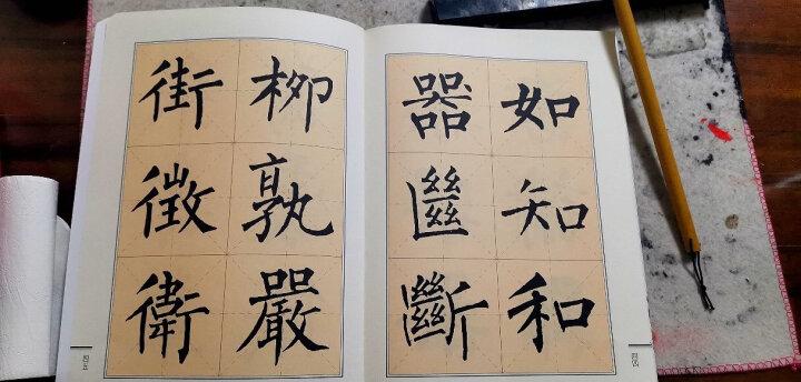 欧体楷书间架结构九十二法字帖 晒单图
