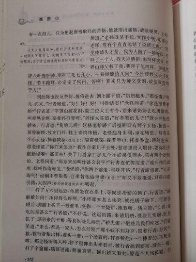 西游记( 精装四大名著 足本典藏 无障碍阅读 注音解词释疑)七年级上册阅读 晒单图