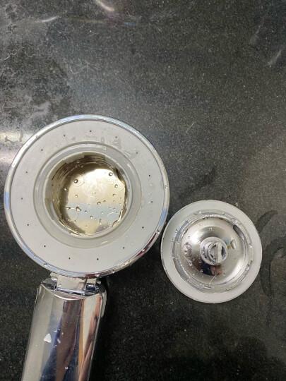 莱尔诗丹(Larsd)LD818花洒喷头 淋浴喷头 增压节水 莲蓬头 花洒配件 晒单图