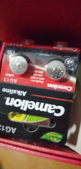 飞狮(Camelion)AG4/LR626/377/SR626W纽扣电池 扣式电池 2粒 适用手表/计算器/体温计 晒单图
