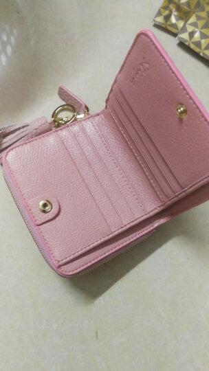 斯提亚/STIYA 女士钱包 新款晚宴手拿包钥匙包短款牛皮钱夹女款卡包小零钱包86S3051004粉色 晒单图
