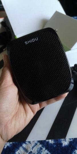 十度(ShiDu)SD-S258 小蜜蜂扩音器 便携式腰挂扩音器 促销导游教师扩音器 经典黑 晒单图