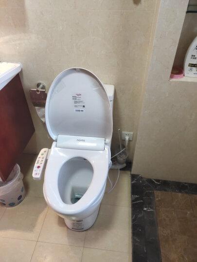 科勒旗下品牌诺维达(novita)智能马桶盖 即热式进口洁身器坐便盖板BD-OK353T长款(即热带暖风) 晒单图