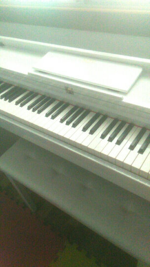 海之韵 【秒杀价全年新低】 电钢琴电子钢琴智能数码钢琴88键重锤专业考级立式电子琴成1 8813【重锤88键】+红色烤漆+三踏板+双人琴凳 晒单图