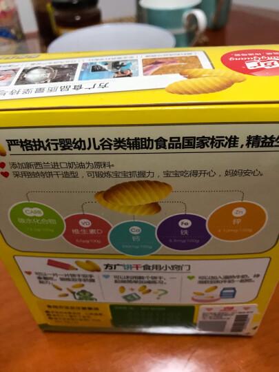 方广 儿童营养零食 宝宝机能小小馒头 牛奶味 奶豆 溶豆 饼干 80g (独立分装 安全卫生) 晒单图
