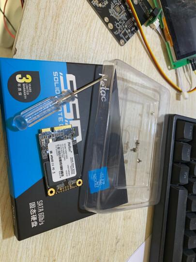 朗科(Netac)120GB SSD固态硬盘 mSATA接口 N5M/纤薄小巧 动力强劲 晒单图