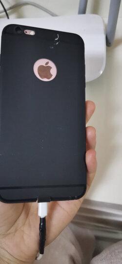 KEKLLE 苹果iPhone6s Plus/6 Plus手机壳/保护套 硅胶磨砂防摔轻薄软壳男女款 5.5英寸 中国红 晒单图