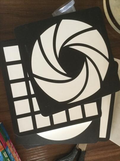 黑白卡婴儿早教卡片彩色闪卡视觉激发卡新生儿启蒙认图片0-6个月 2盒黑白卡+2盒彩色卡 晒单图