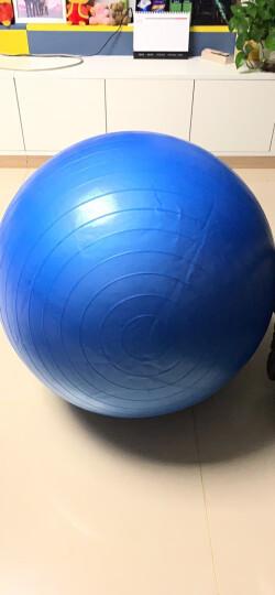 奥义瑜伽球 65cm加厚防滑健身球 专业防爆材质男女通用孕妇助产弹力球 赠全套充气装备 蓝色 晒单图