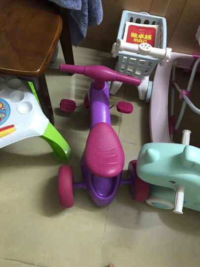 贝恩施 儿童玩具 轻便免充气三轮车 脚踏车 1-3岁宝宝玩具童车 601红色 晒单图