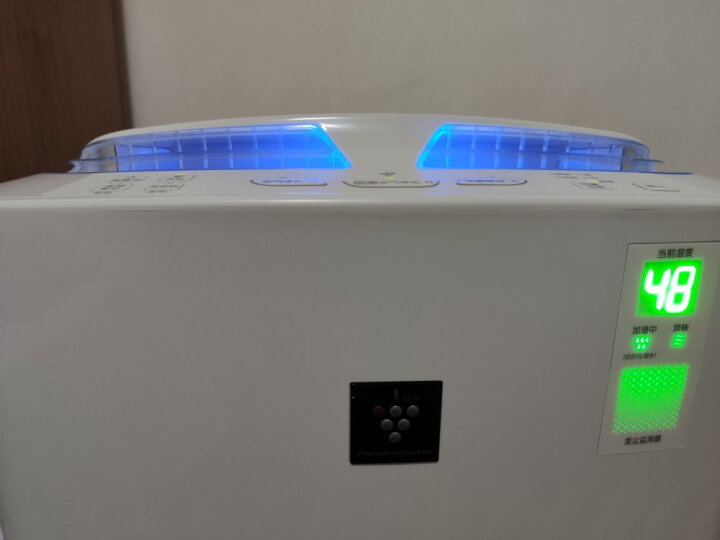 夏普(SHARP)消毒空气净化器加湿净离子群杀菌家用卧室除醛空气质量实时监控 760ml/h大加湿量KC-Z380SW 晒单图