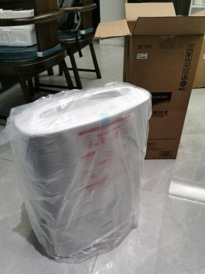夏普(SHARP)空气净化器家用静音加湿净离子群杀菌除过敏源甲醛卧室客厅母婴甄选 KC-WE20-W 晒单图