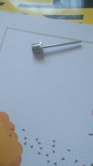 正品打气筒气针免邮 2支装篮球排球足球打气针球针加汽针2枚 玩具充气球嘴针钢制气针 气针5支装 晒单图