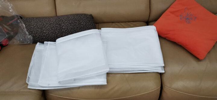 LUCLIFE 衣服收纳袋防尘罩透明挂衣袋衣物防尘袋衣罩大衣防尘套衣服 3大2中 晒单图