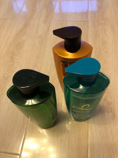 欧莱雅(LOREAL)茶树植萃3件套(洗发露700ml+洗发露500ml+赠品润发乳200ml) 晒单图