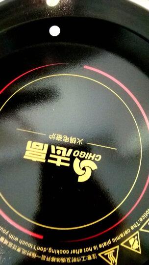 志高(CHIGO) 火锅电磁炉商用圆形小型镶嵌式嵌入式火锅店专用防水台式一人一锅酒店专业线控900w 05H线控款 晒单图