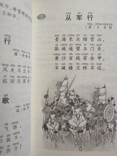 经典诵读系列:小学生必背古诗词80首 晒单图