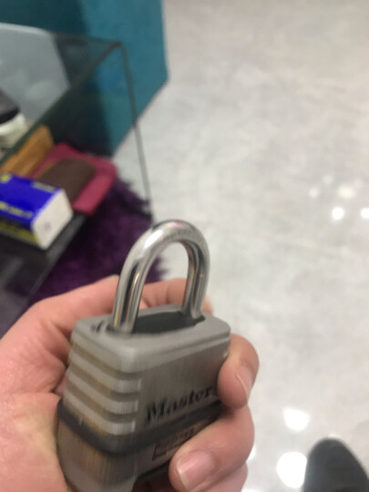 玛斯特(Master Lock)黄铜密码锁 家用办公大门仓库储物柜四位密码挂锁175MCND 美国百年锁具品牌 晒单图