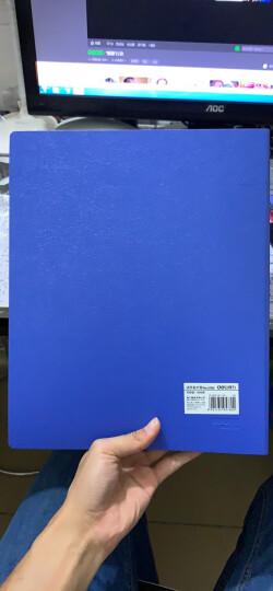 得力(deli)600枚商务活页名片册名片夹 大容量名片收纳包 蓝色 晒单图