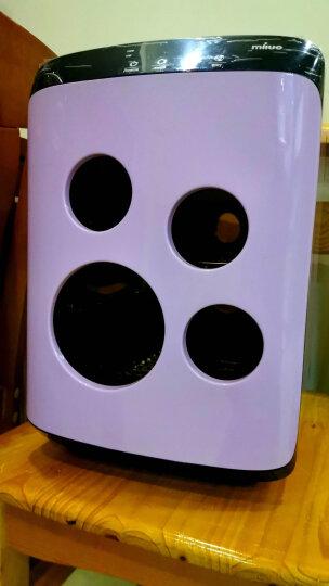 荷兰米洛奶瓶消毒器带烘干紫外线婴儿大容量杀菌柜二合一家用宝宝小型机器 六面不锈钢带夜灯22L进口杀菌款-甜心粉 晒单图