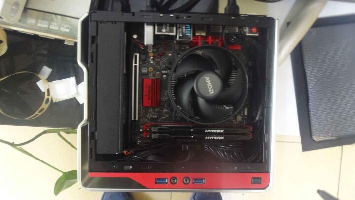 迎广(IN WIN)肖邦 银色 迷你机箱(支持MINI ITX主板/铝合金外框/自带150W足瓦静音电源/USB3.0 x2) 晒单图