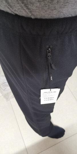 伯希和抓绒裤男女保暖户外休闲裤 女灰色 S 晒单图