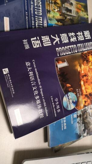 4册新视线意大利语 初级A1-A2 【学生用书+练习册+视听说+语法】自学,大学意大利语 晒单图