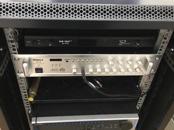 新科(Shinco)AV-112 数字hifi功放机 专业定压定阻功放器蓝牙广播功放300W(银色) 晒单图